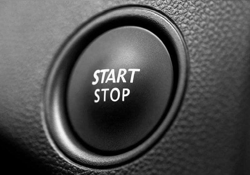 Кнопка старт-стоп